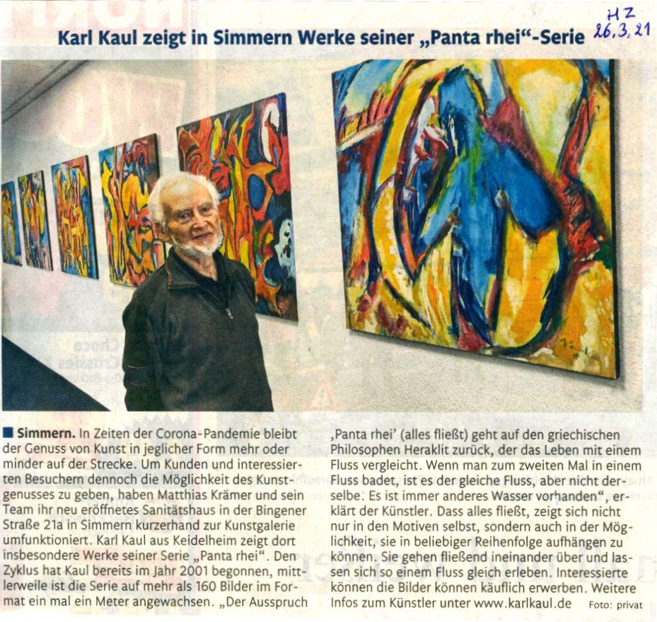 Exhibition Karl Kaul