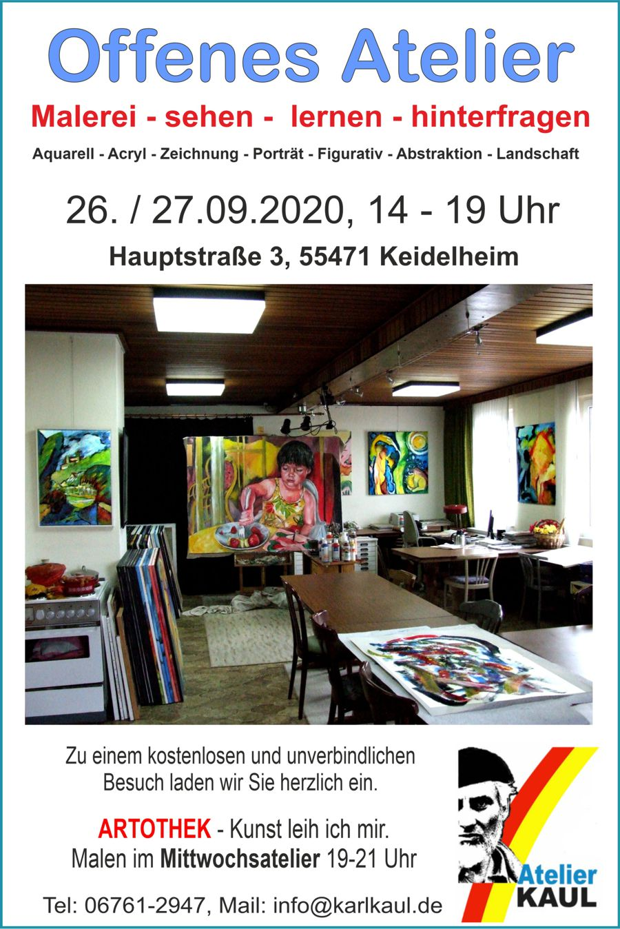 Open Studio Karl Kaul