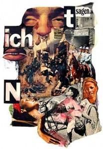 Collage against war